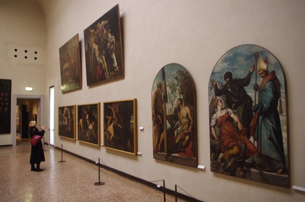 Галерея Академии, экспозиция