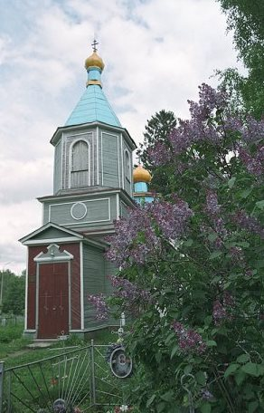 Деревянная церковь Архистратига Михаила, Алёховщина, Ленинградская область