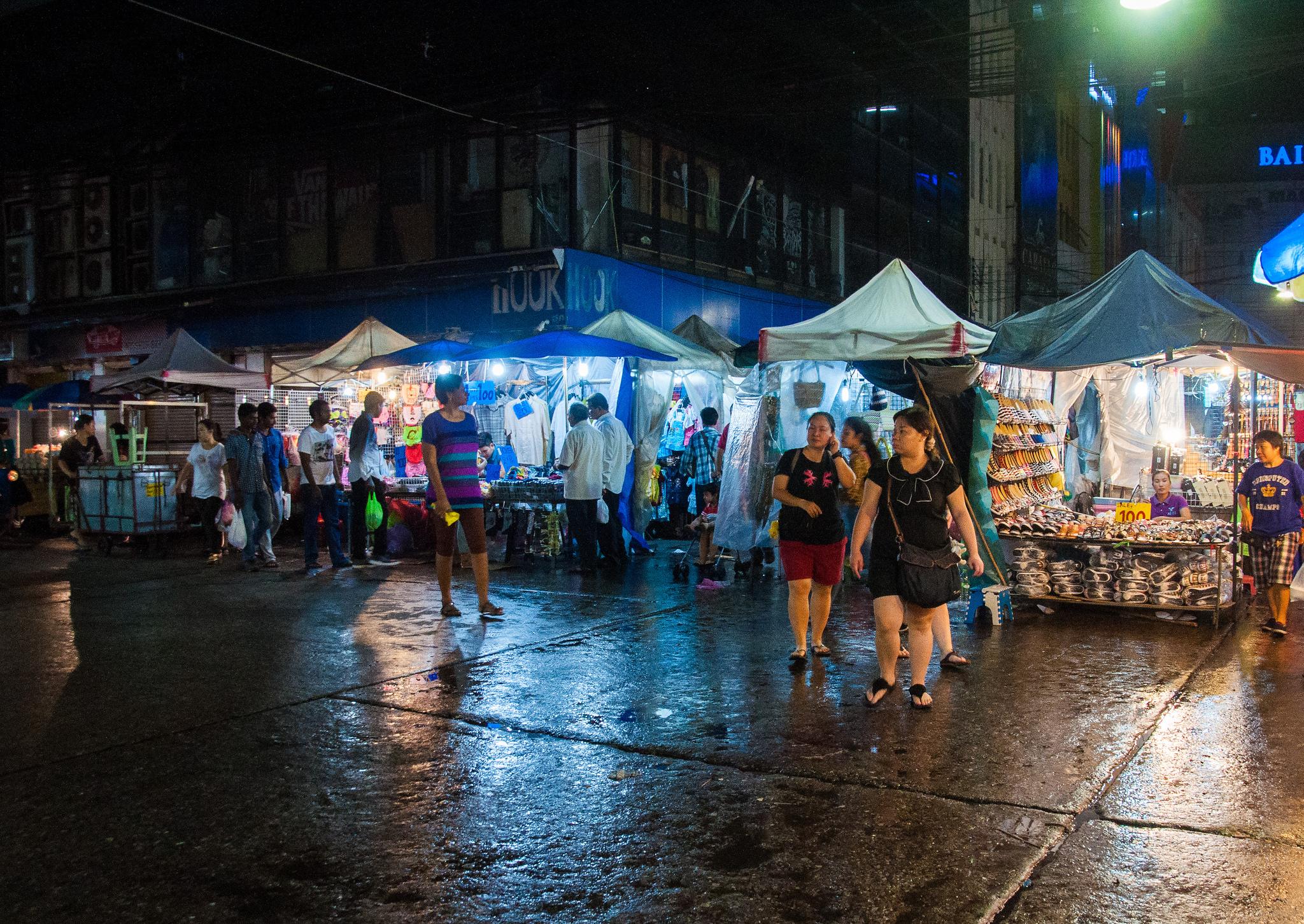 Ночной рынок Пратунам