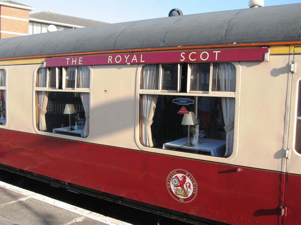Поезд «Королевский шотландец», вагон первого класса