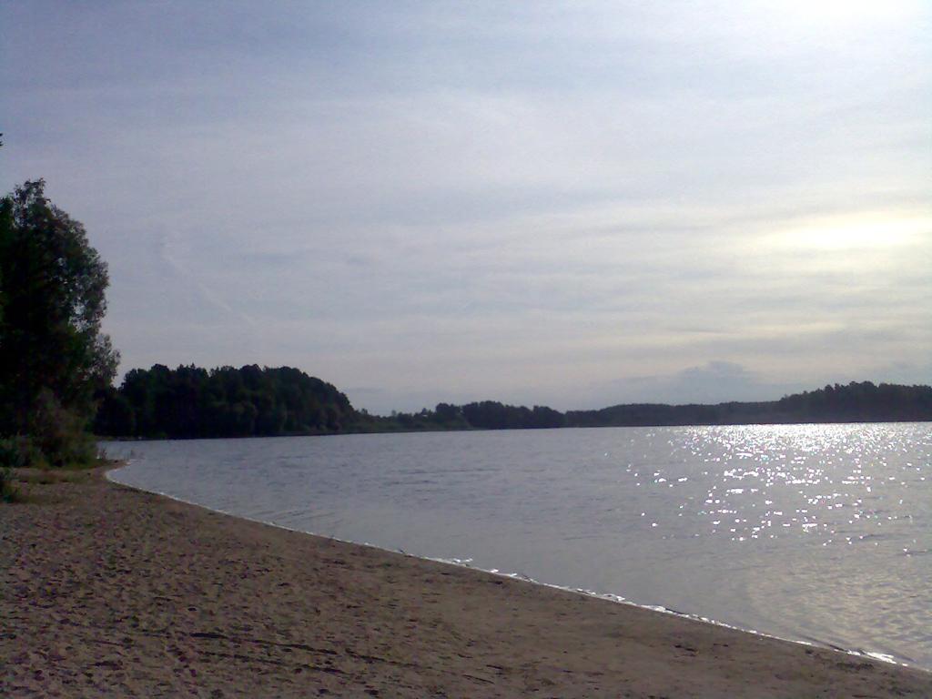 Смоленское поозерье, пляж озера Сапшо
