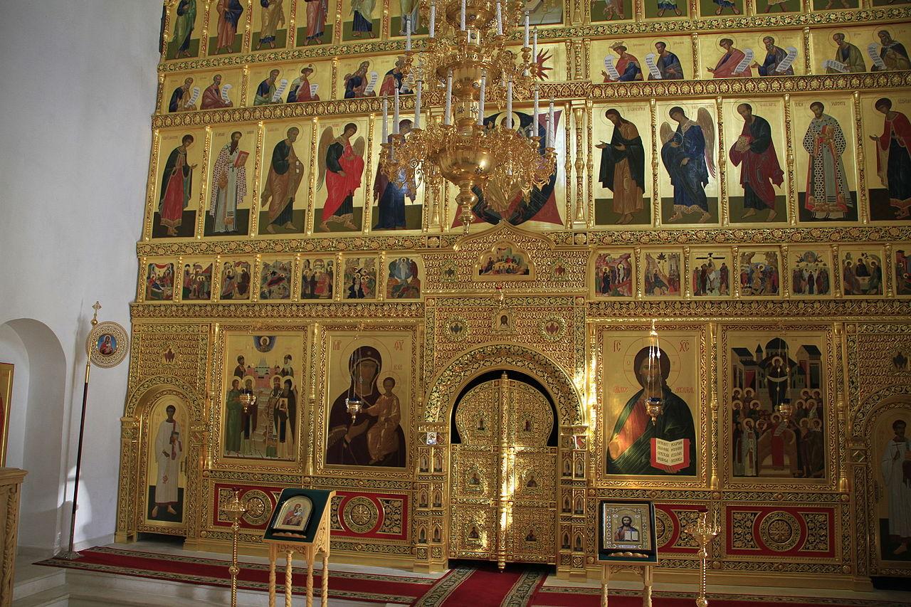 Церковь Одигитрии в Вязьме, интерьер