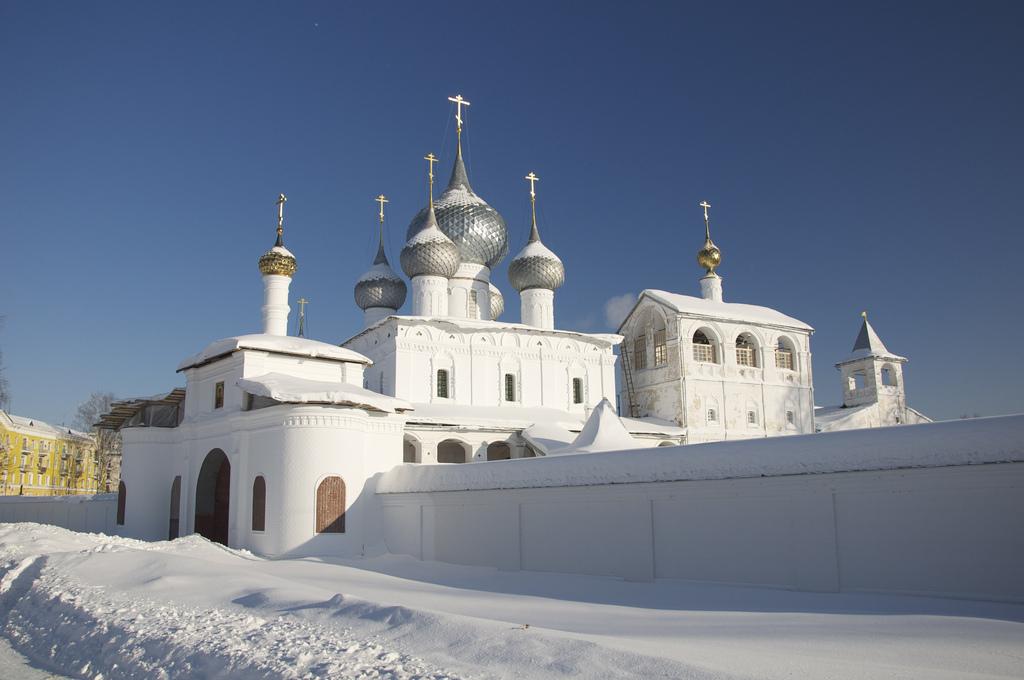 Воскресенский монастырь зимой