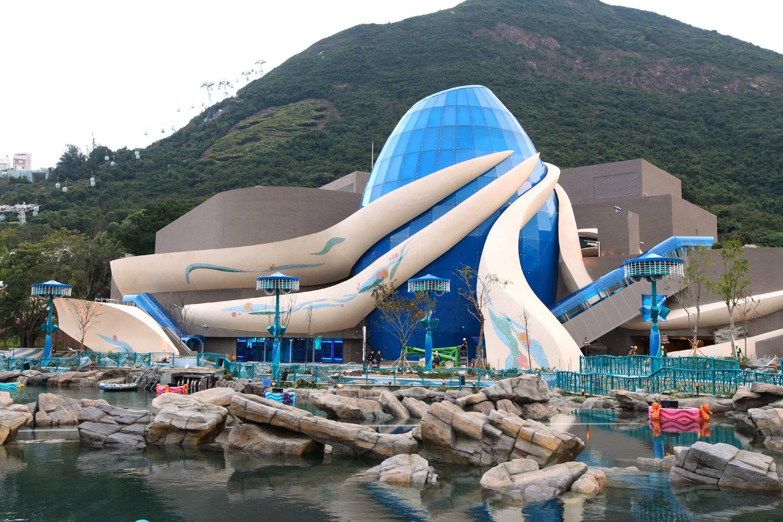 Океанический парк в Гонконге, Aqua City