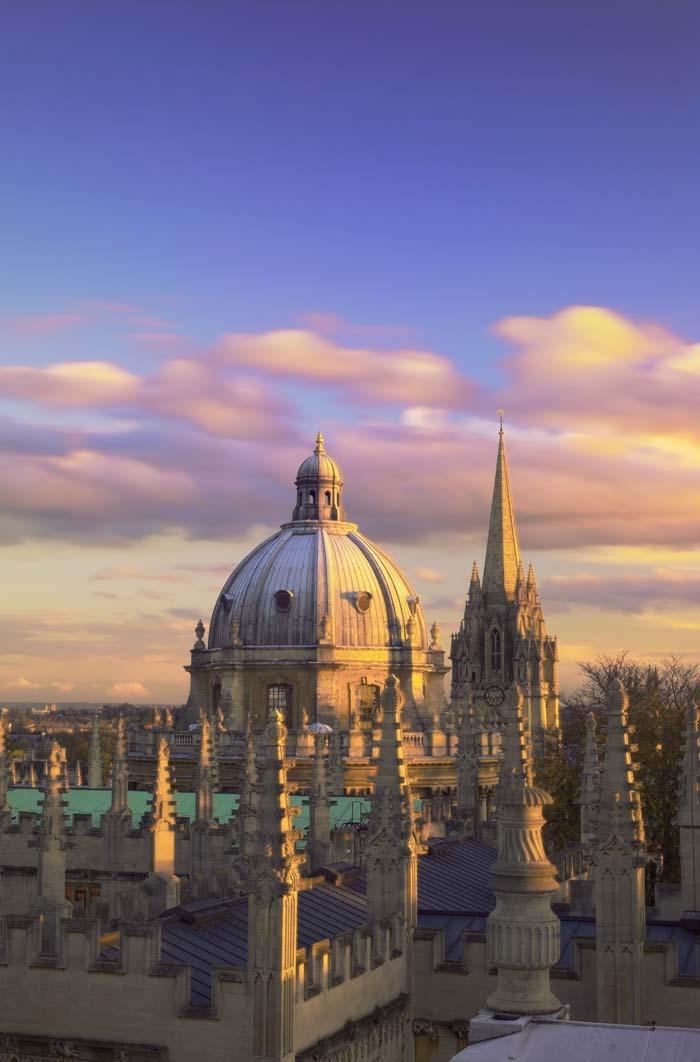 Вид на Оксфорд, Великобритания