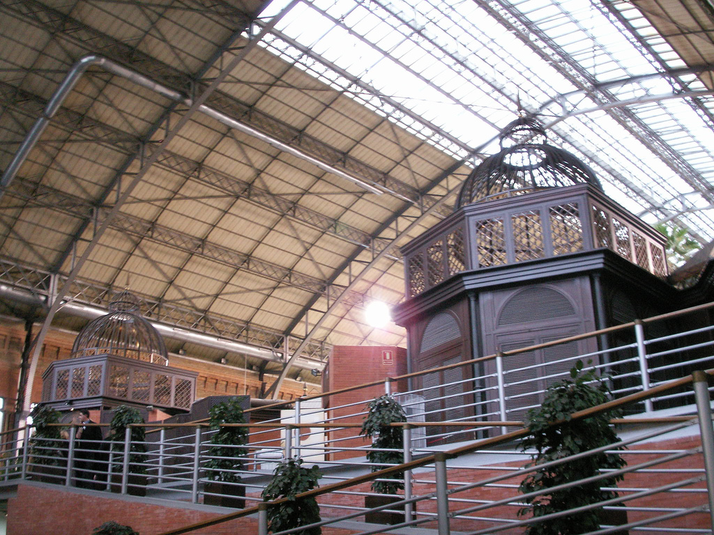 Вокзал Аточа, интерьер