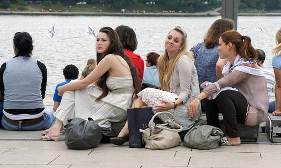Студенты Гамбурга