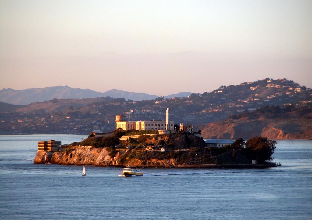 Тюрьма Алькатрас в Сан-Франциско