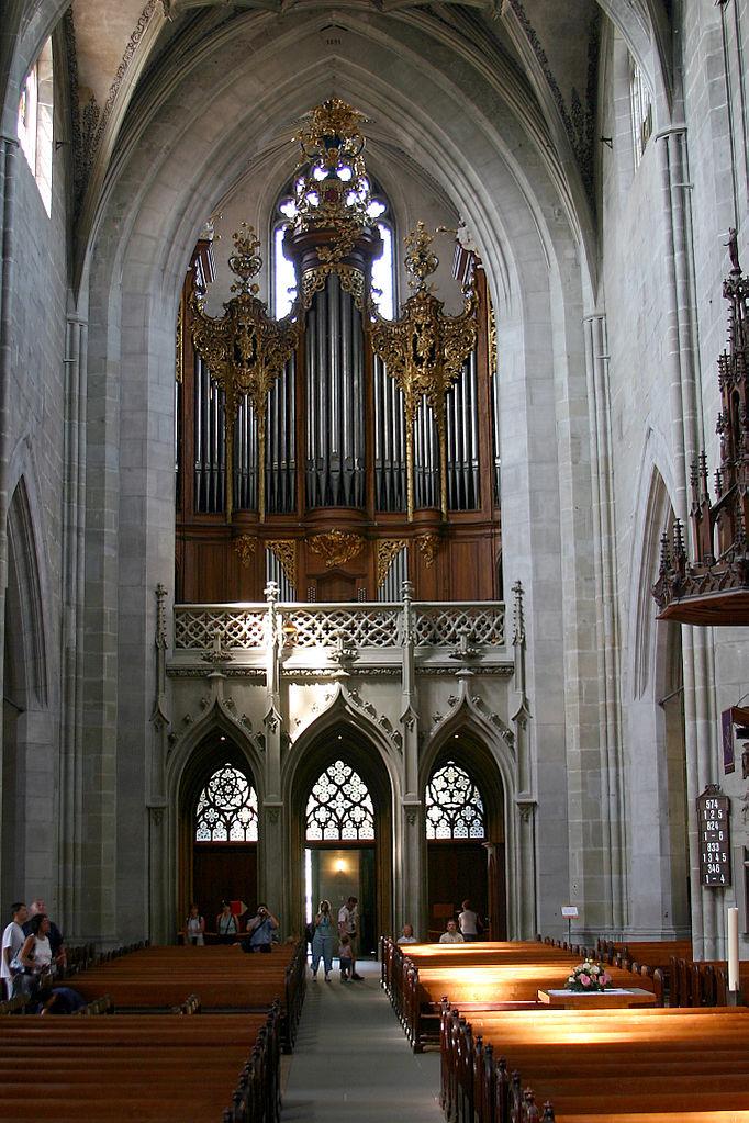 Бернский собор, хоры