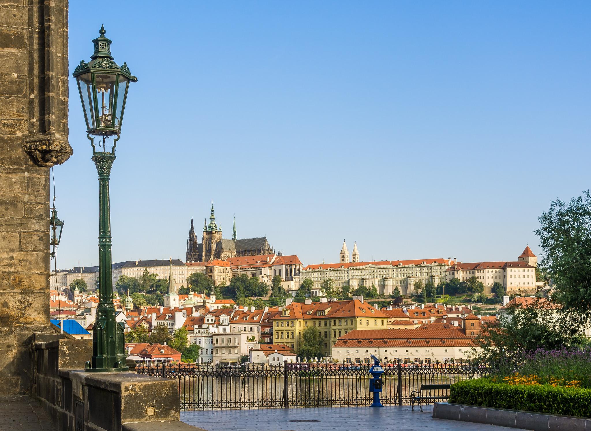 Вид на собор Святого Вита, Прага