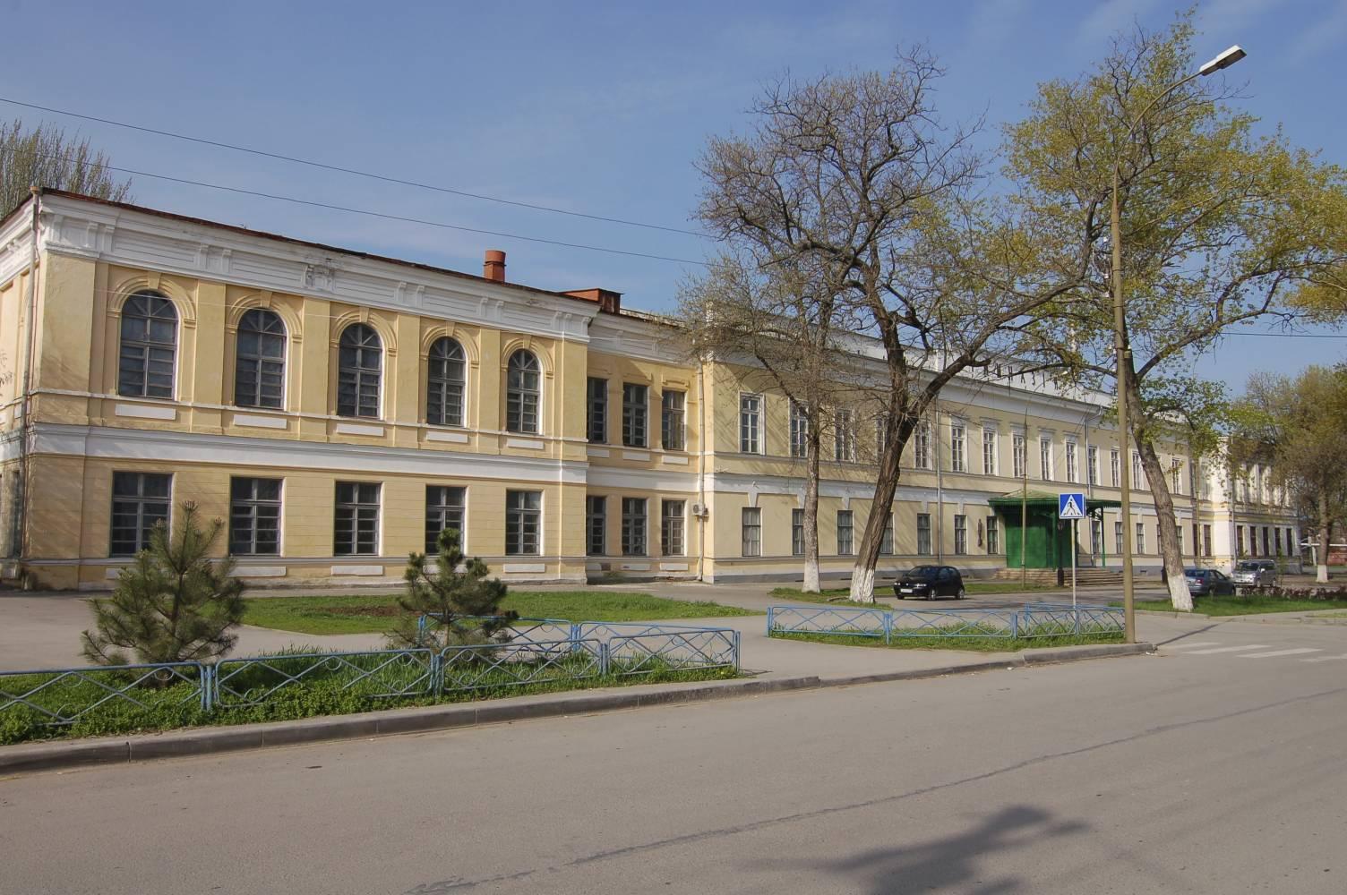 Гимназия Чехова в Таганроге, историческое здание