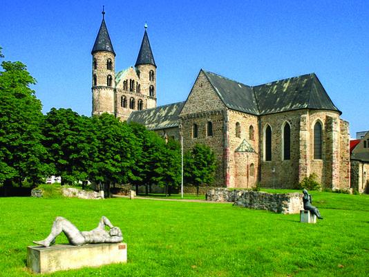 Музей монастырь Богоматери в Магдебурге. Германия