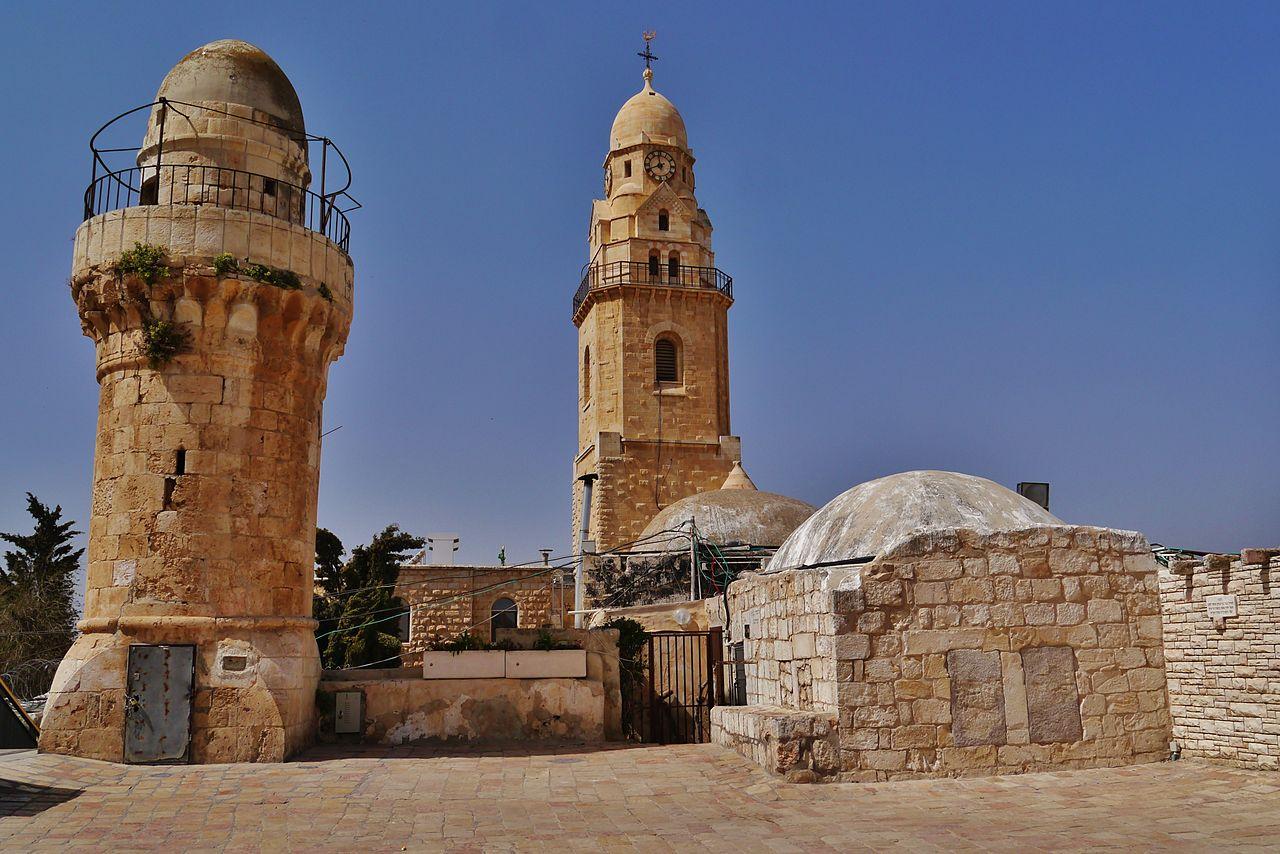 Гора Сион, постройки трех религий
