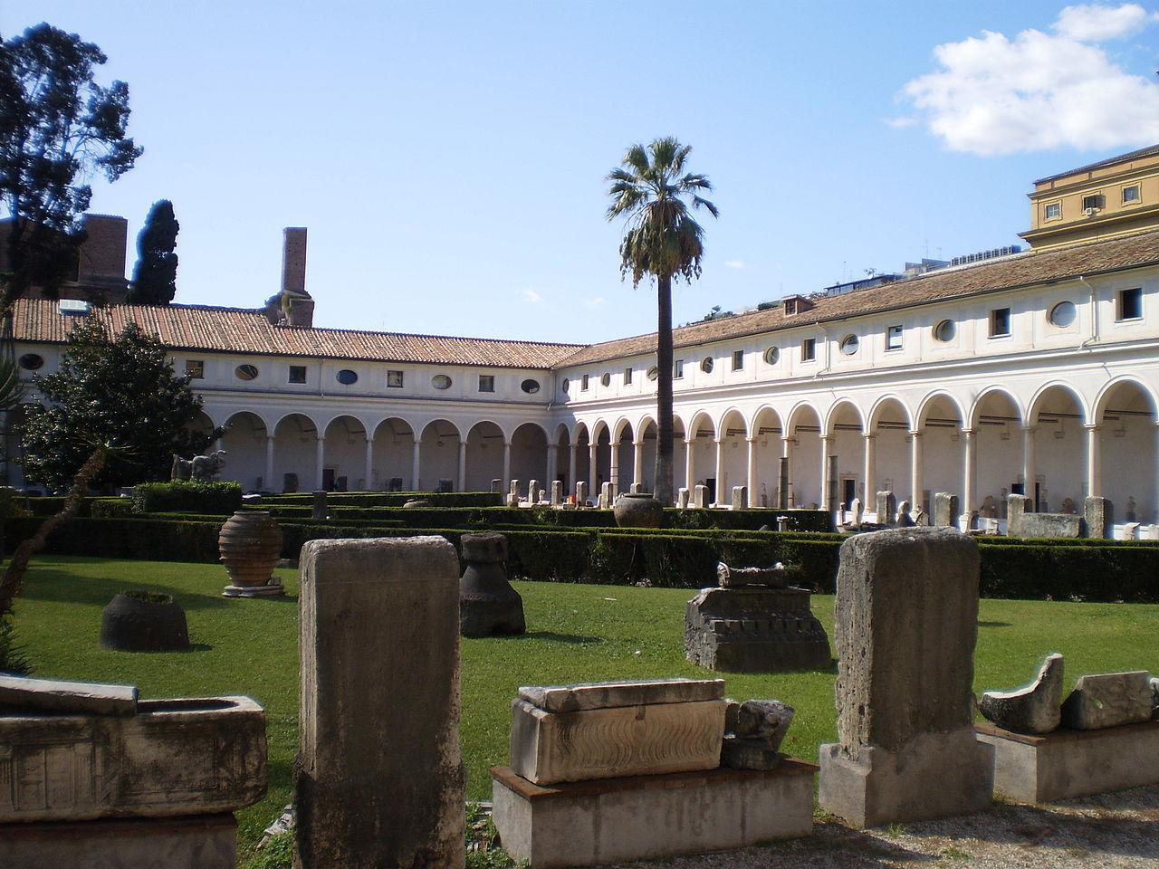 Национальный музей Рима, античные термы Диоклетиана