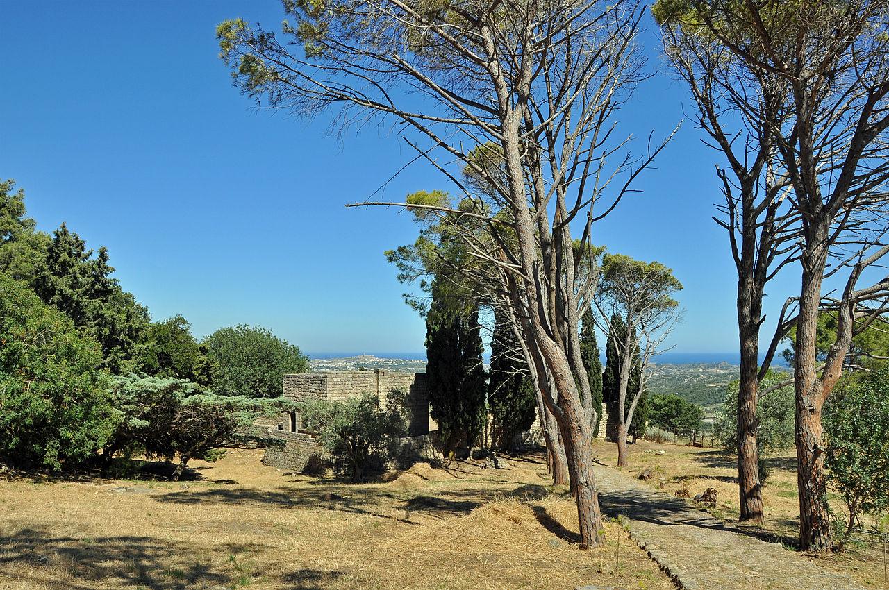 На горе Филеримос, Греция