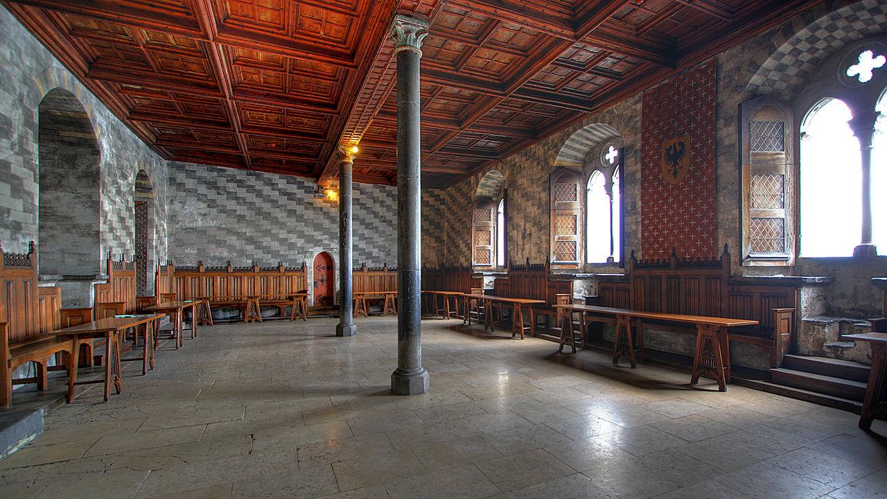 Шильонский замок, Большой зал
