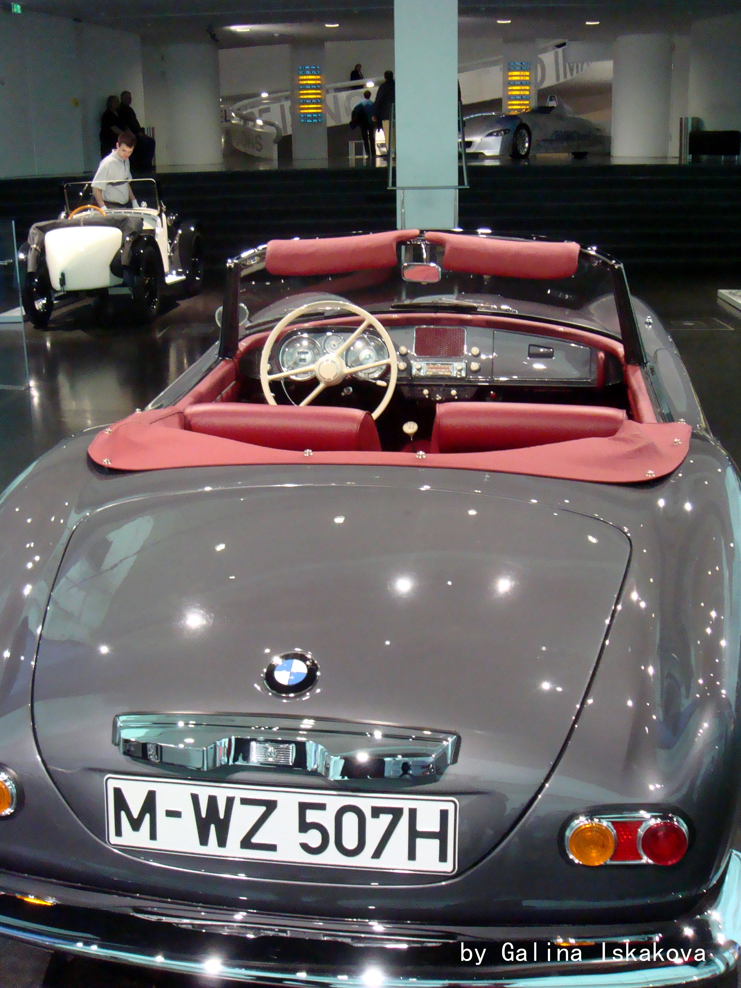 BMW 507, музей BMW