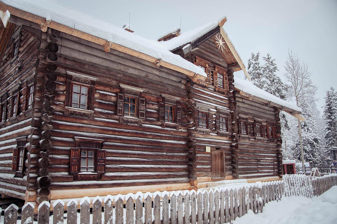 Малые Корелы, крестьянский дом