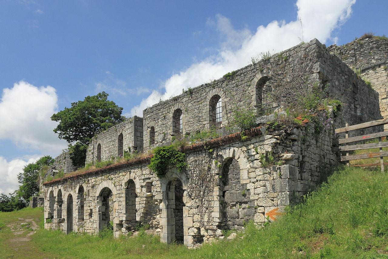 Анакопийская крепость, внешняя стена