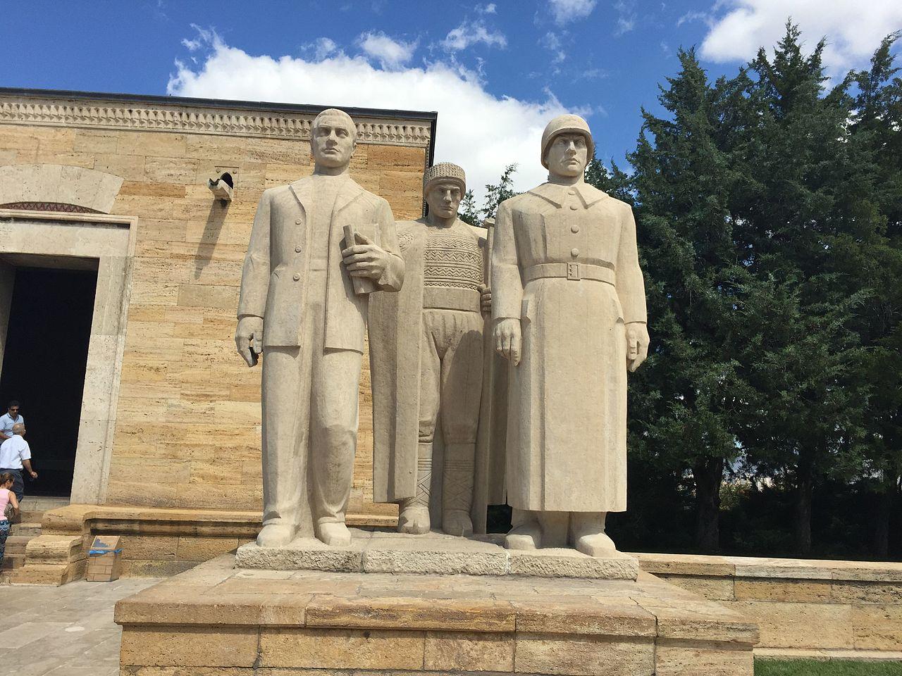Мавзолей Аныткабир в Анкаре