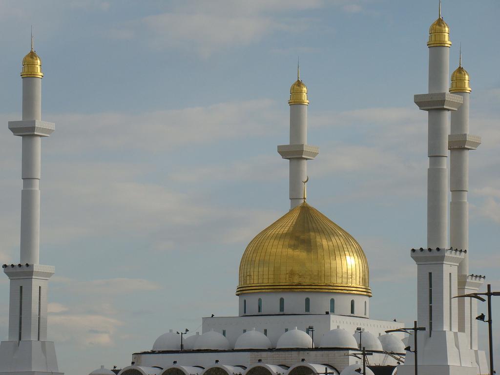 Минареты мечети Нур Астана