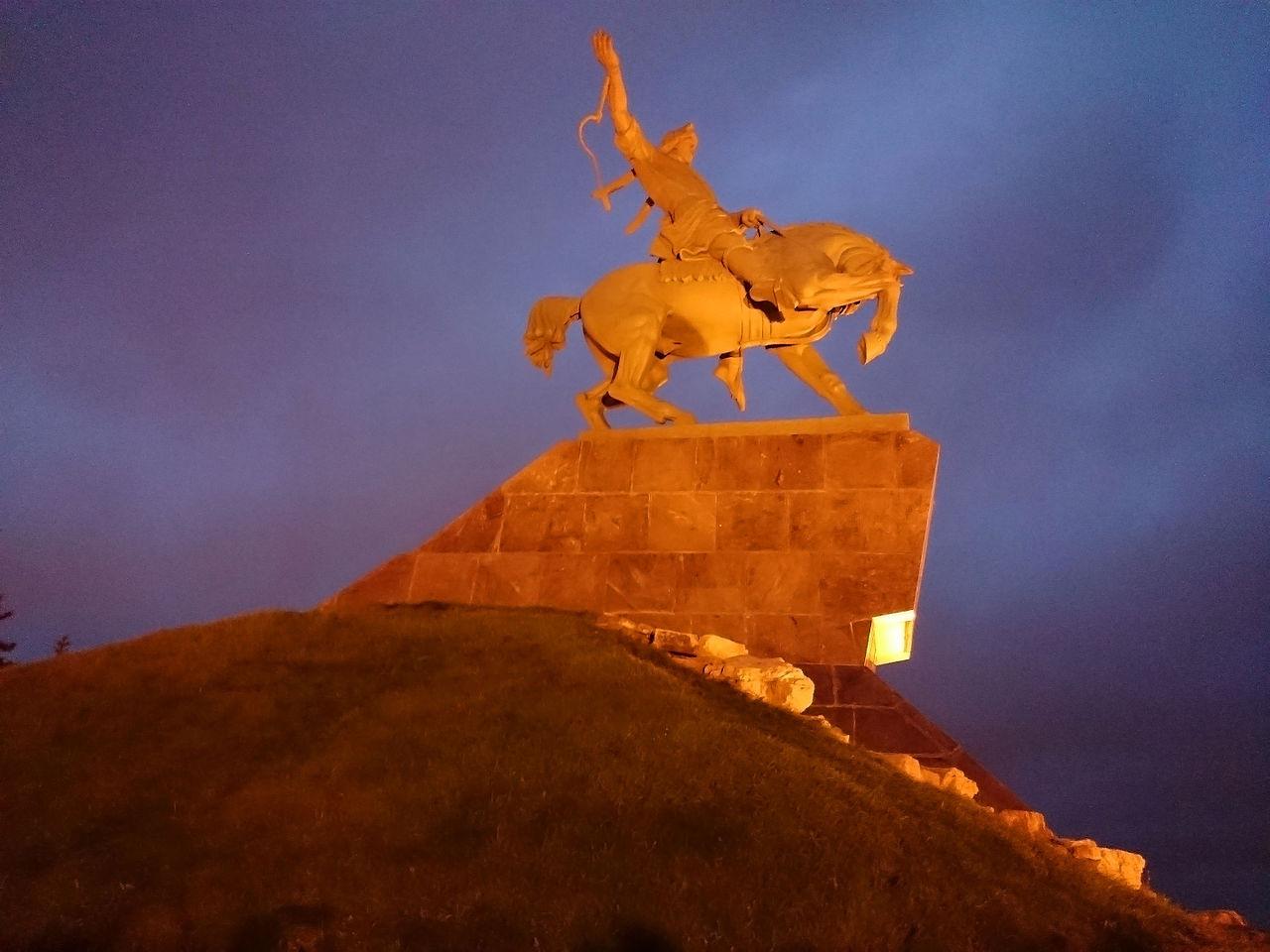 Памятник Салавату Юлаеву, Уфа, Башкортостан