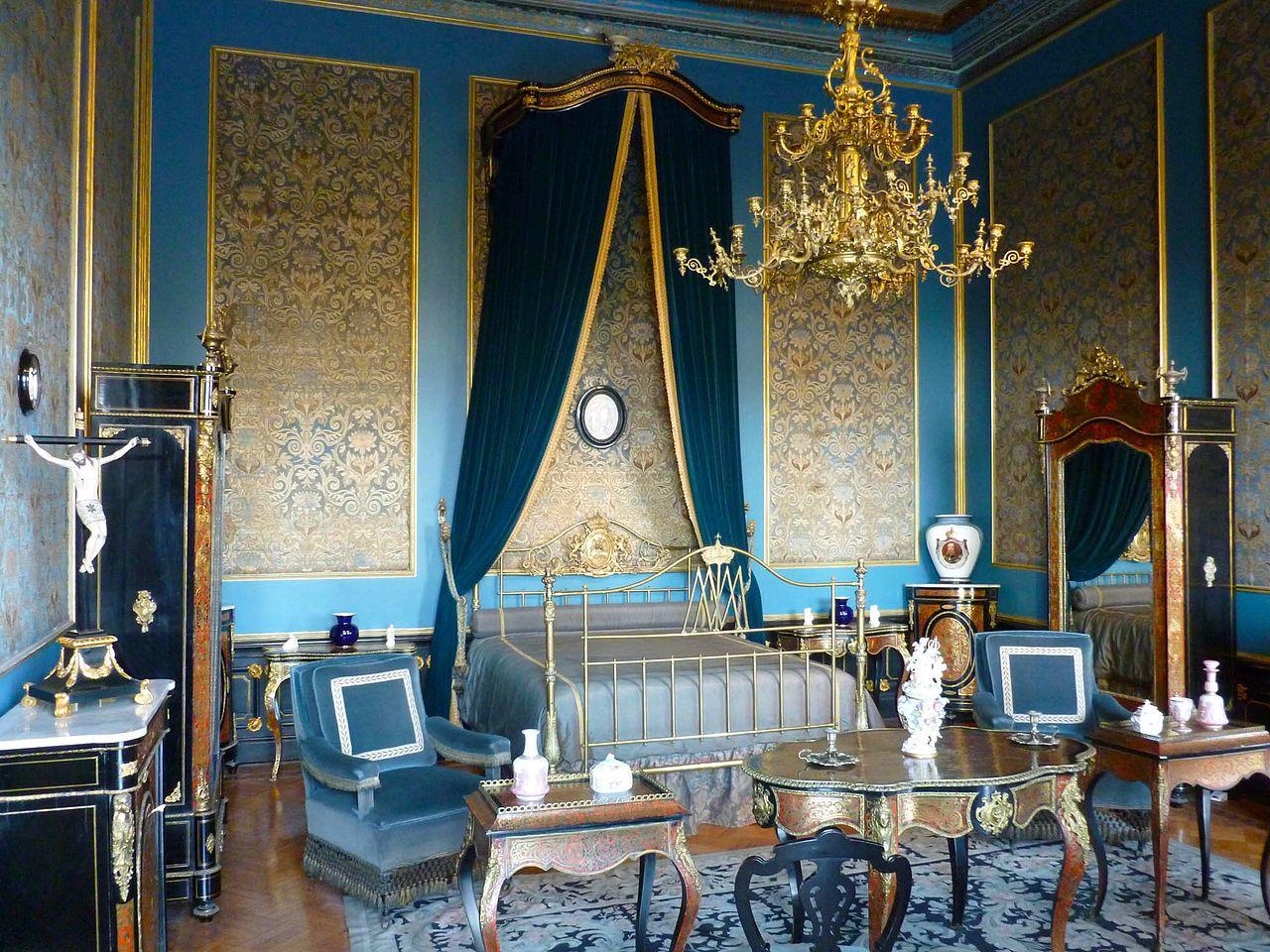 Чапультепекский дворец, спальня