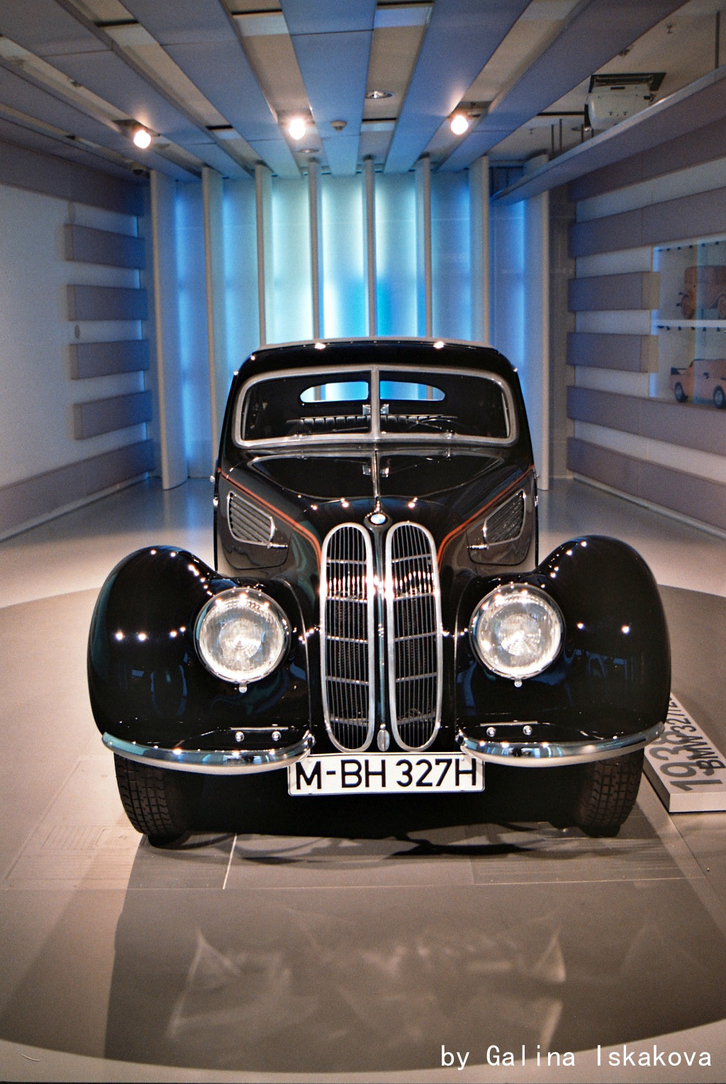 BMW 327 coupe, музей BMW