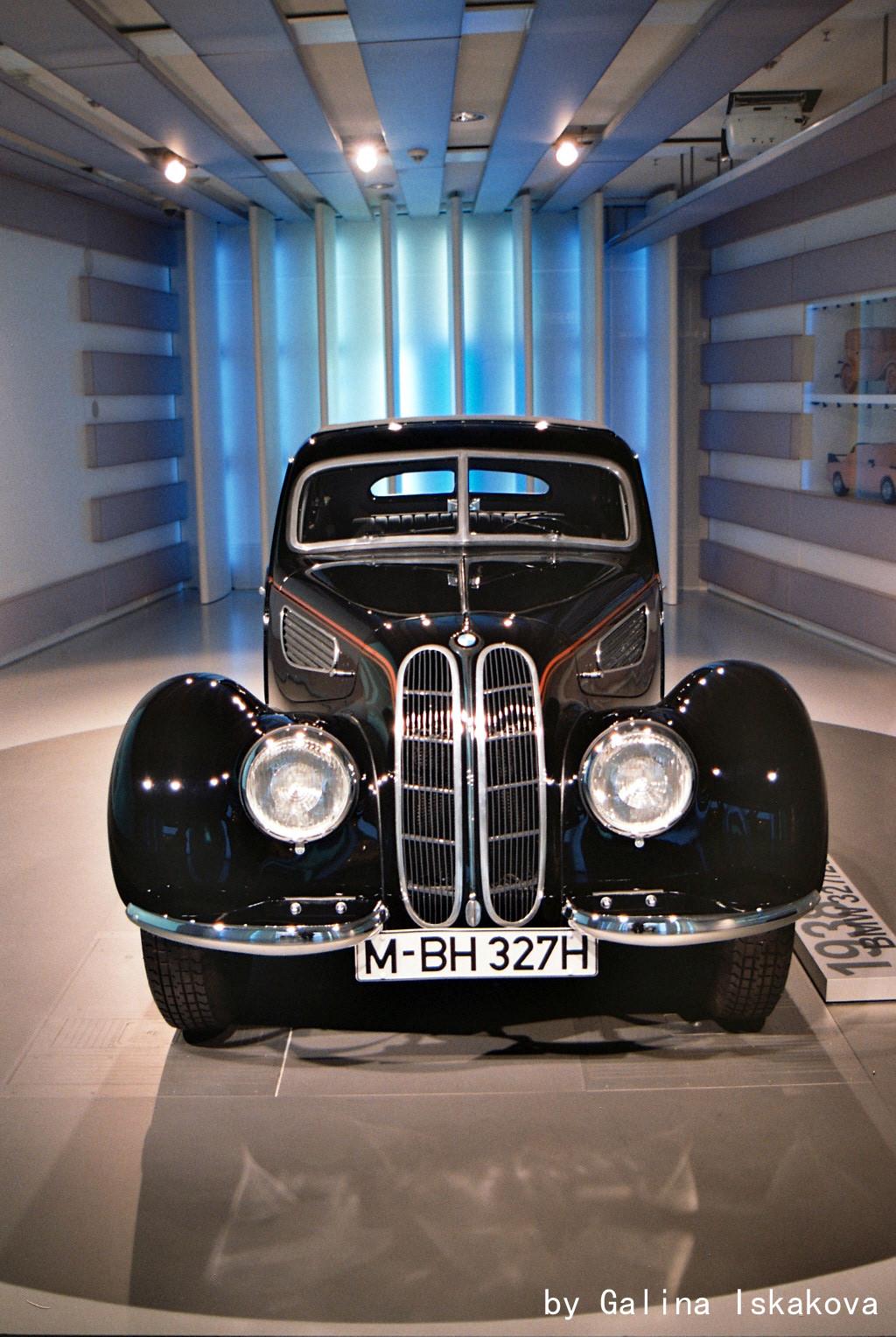 BMW 327 coupe, музей BMW