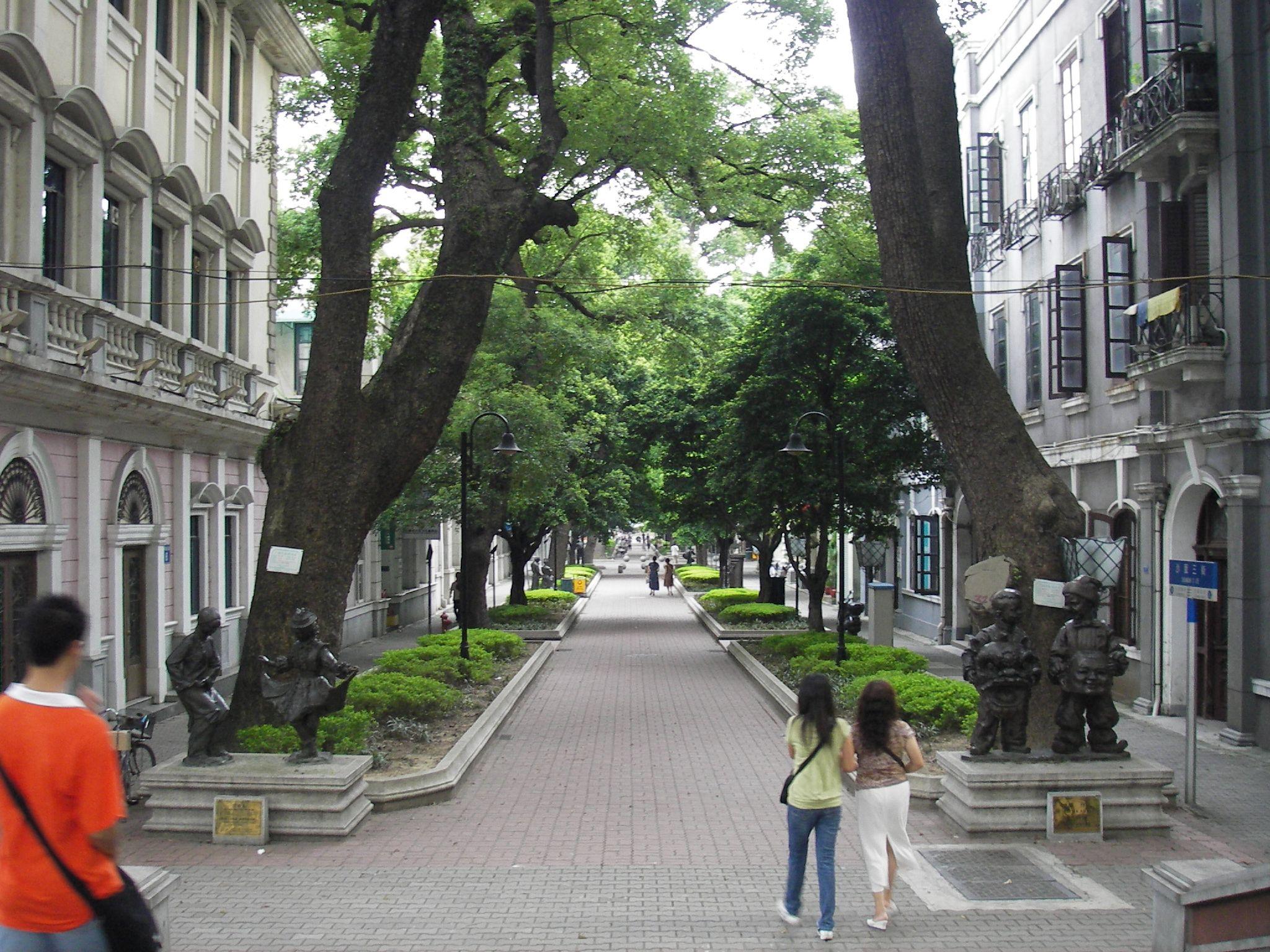Бульвар на острове Шамянь, Гуанчжоу