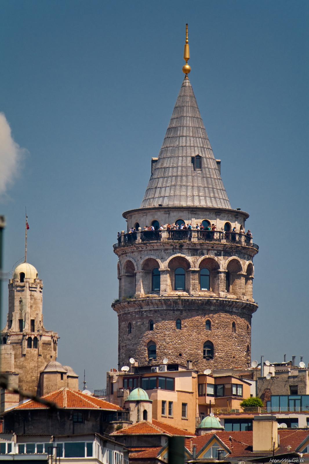 Галатская башня, район Галата