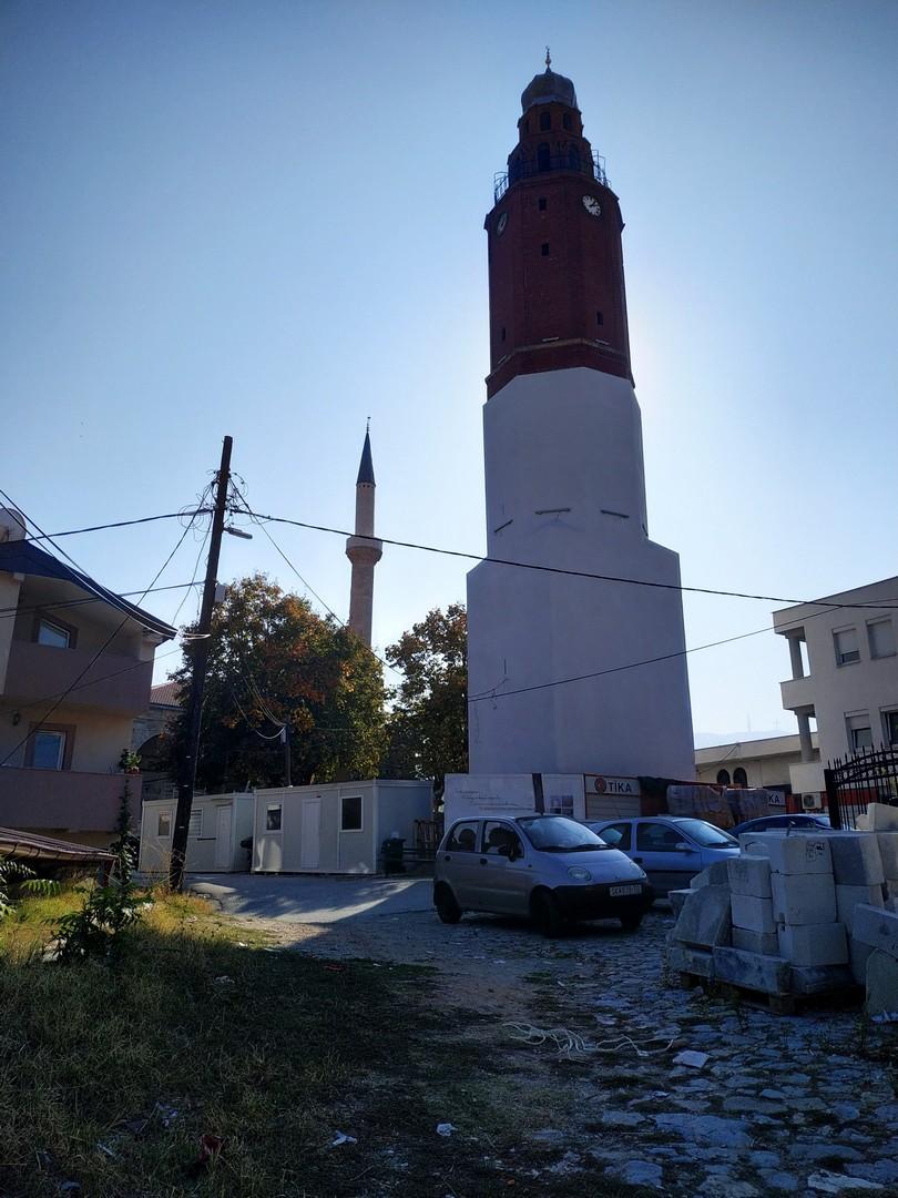 Часовая башня в Скопье