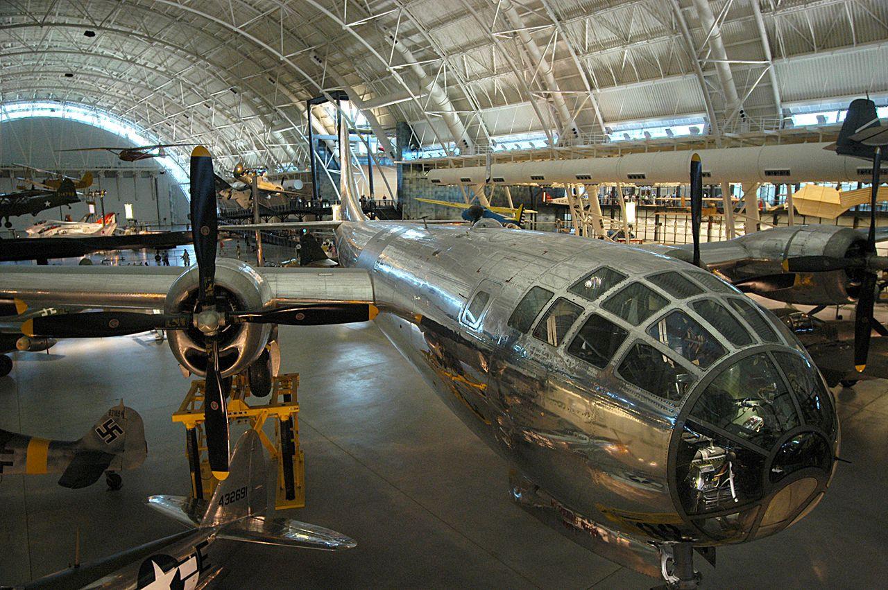 Национальный музей авиации и космонавтики, ангар