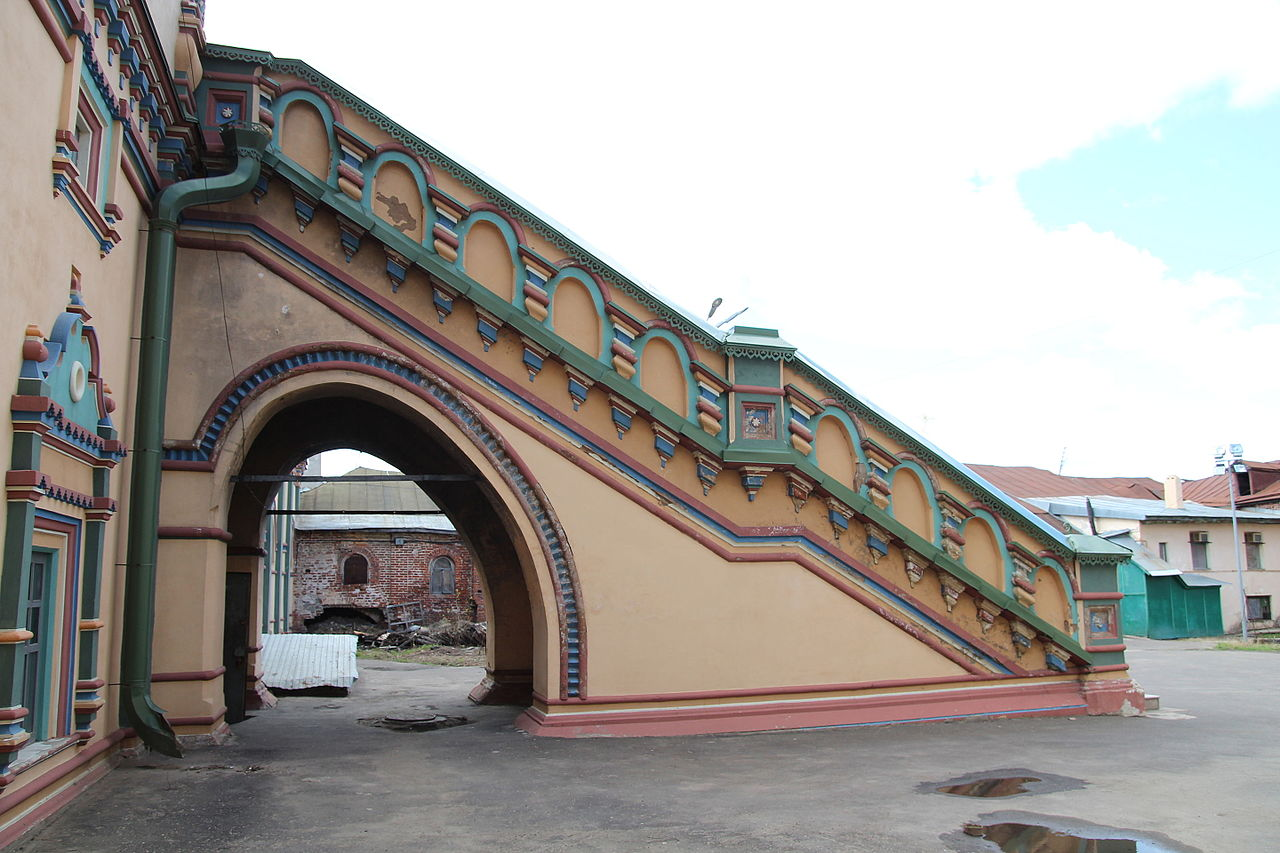 Петропавловский собор в Казани, лестница