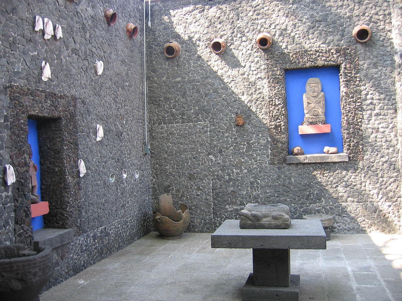 Дом-музей Фриды Кало, двор