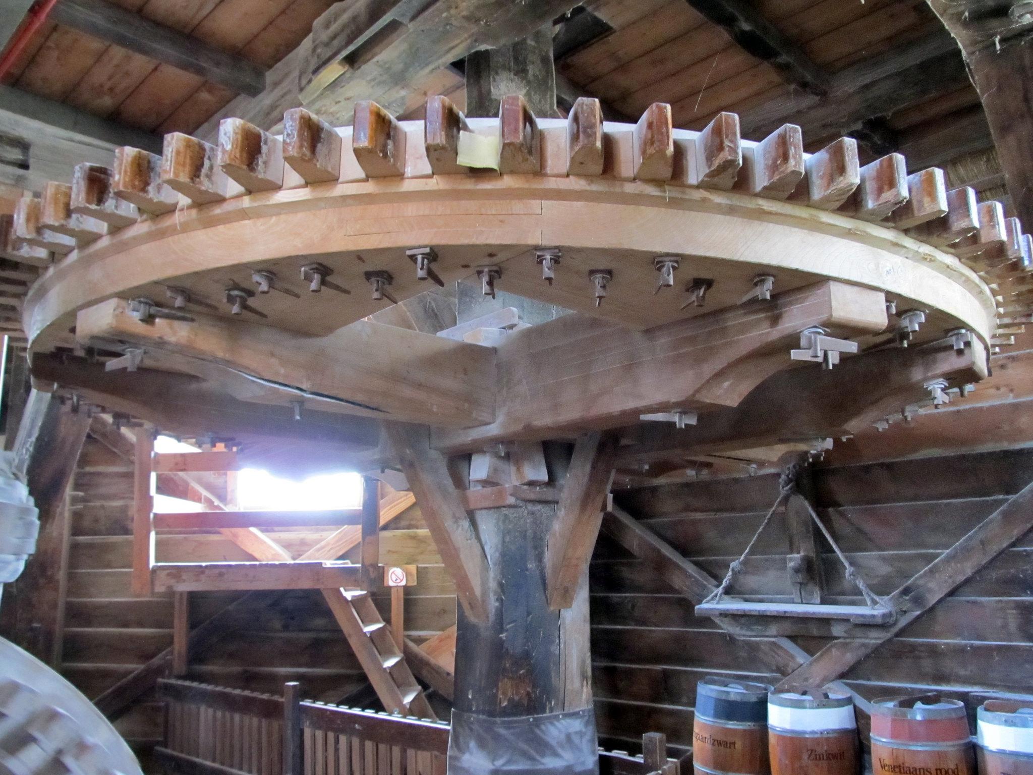 Зансе-Сханс, колесо ветряной ммельницы