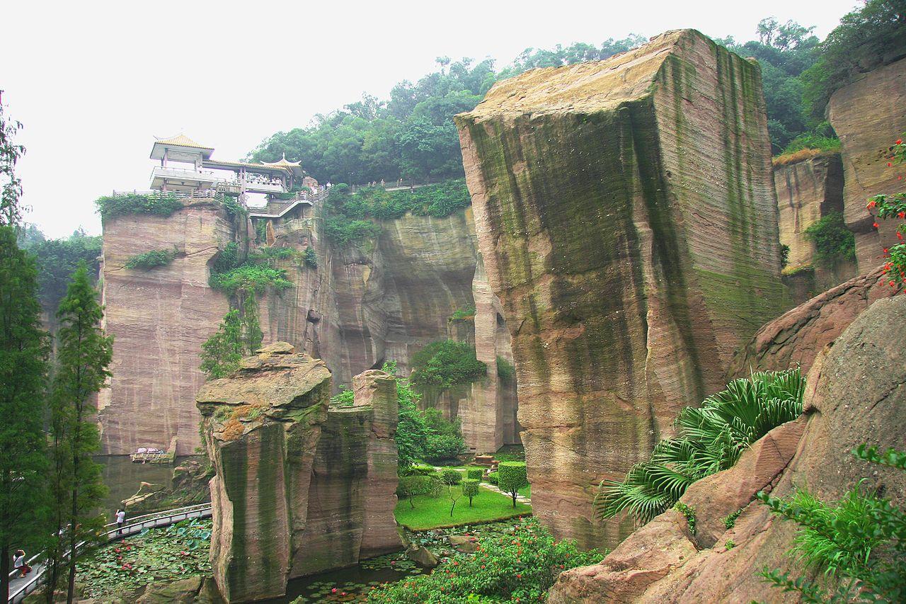 Лотосовые горы, Гуанчжоу