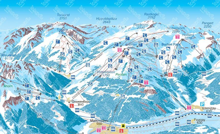 d61e4de48da1 Майрхофен, Австрия  трассы и подъемники, отели, цены и отзывы о ...