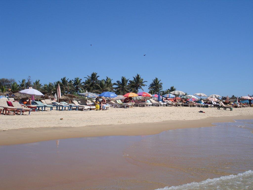 Отели на пляже калангут гоа индия фото