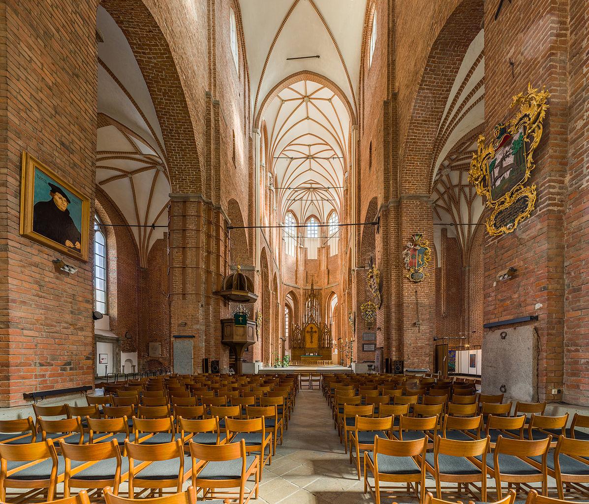 Церковь Святого Петра в Риге, интерьер