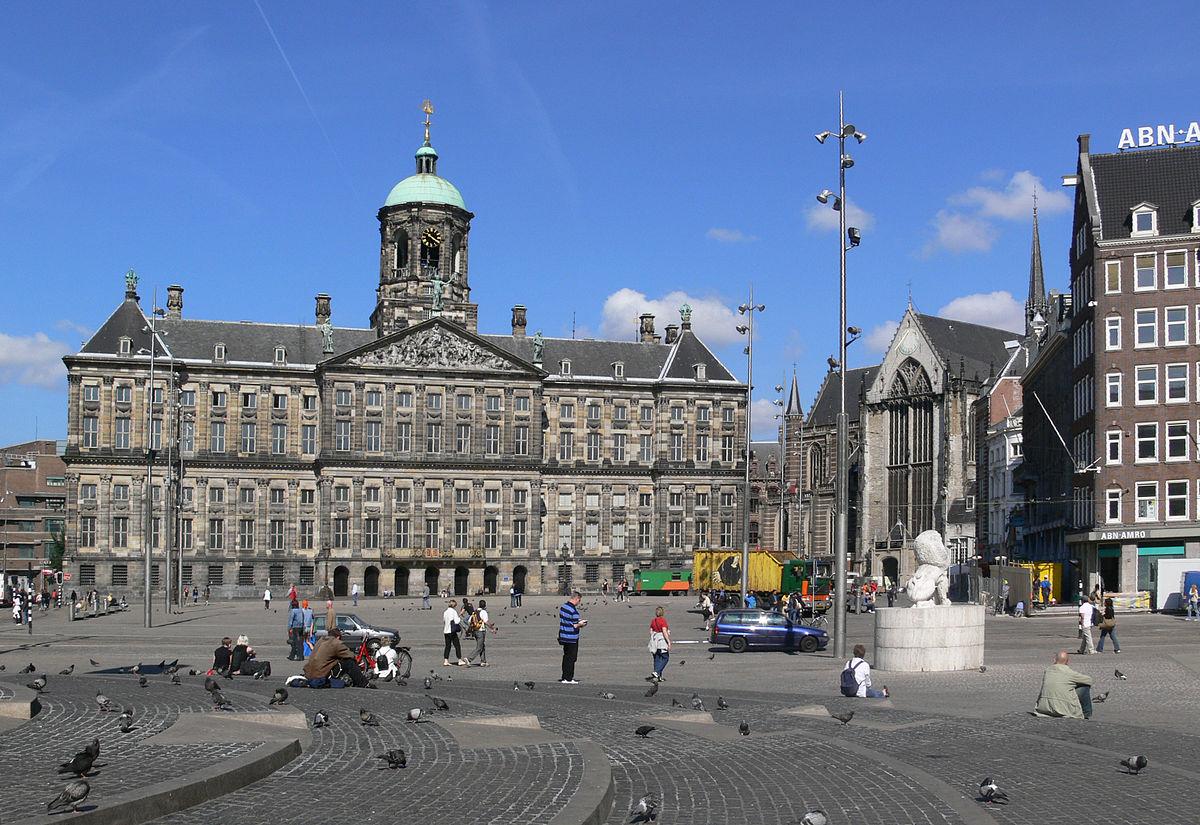 Королевский дворец на площади Дам, Амстердам