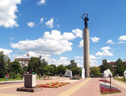 Площадь Победы в Калуге