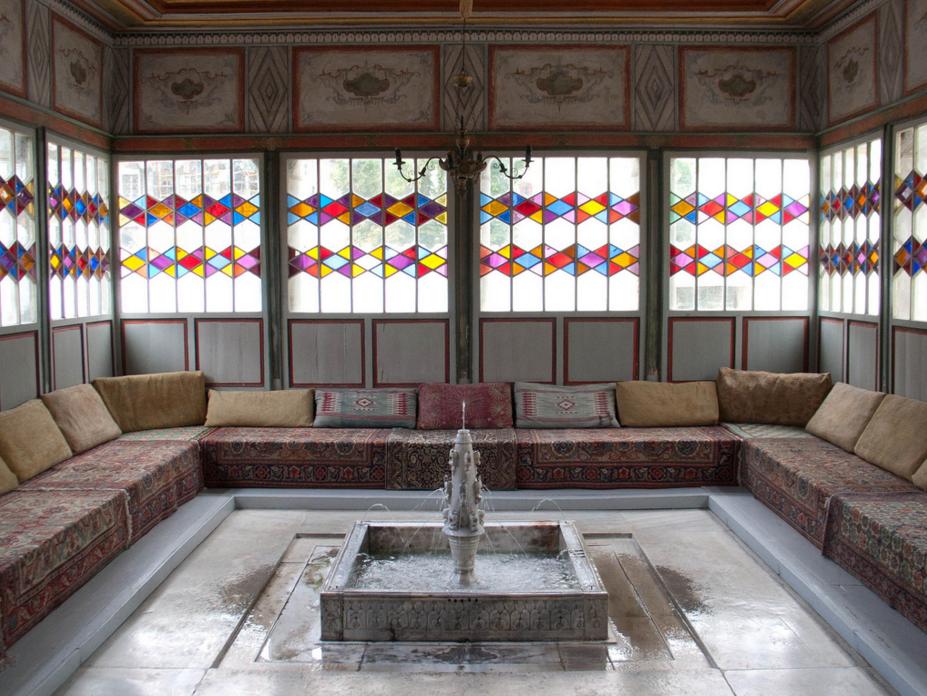 Ханский дворец, комната с фантаном