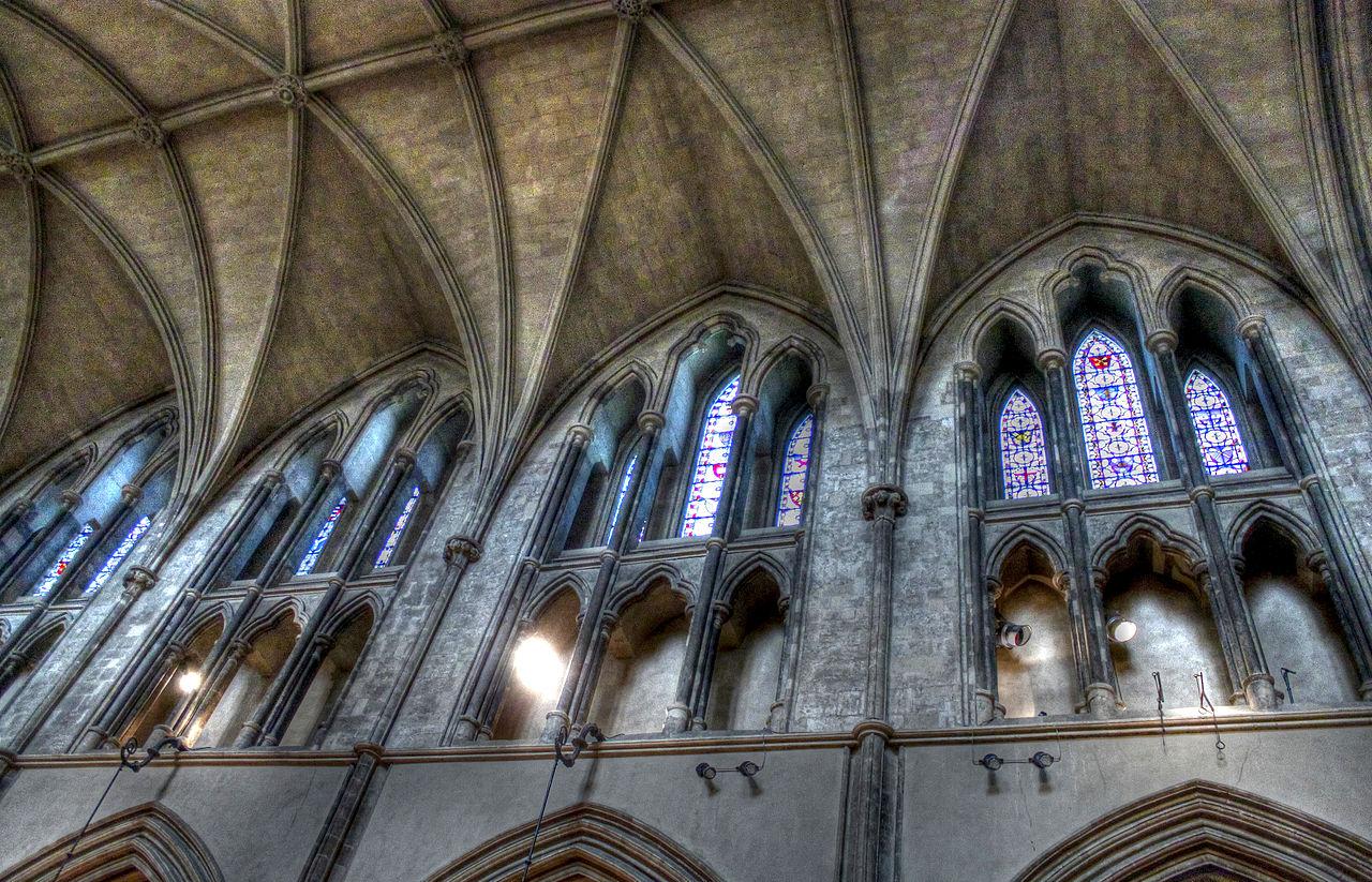 Церковь Крайст-чёрч (собор Церкви Христовой), купол и окна