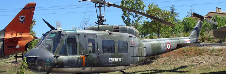 Вертолет, Музей авиации в Италии, Римини