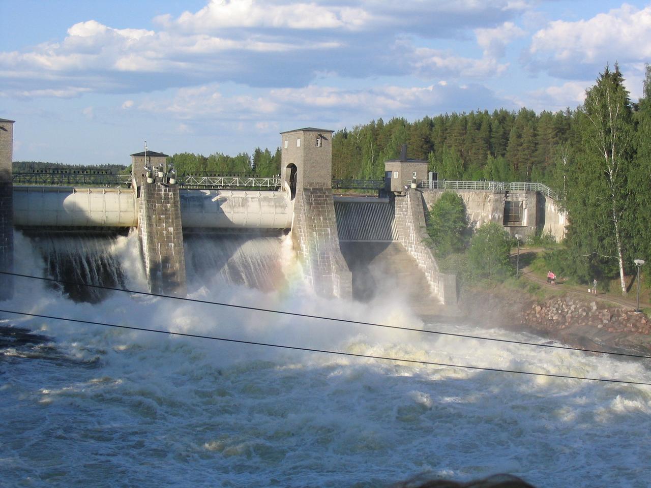 Иматранкоски, водоскат на реке Вуокса