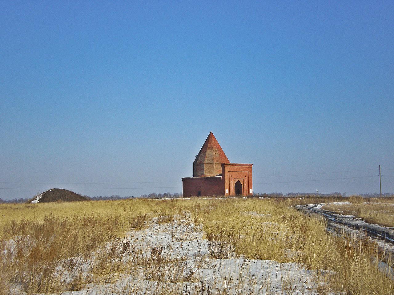 Мавзолей Кесене в Челябинской области