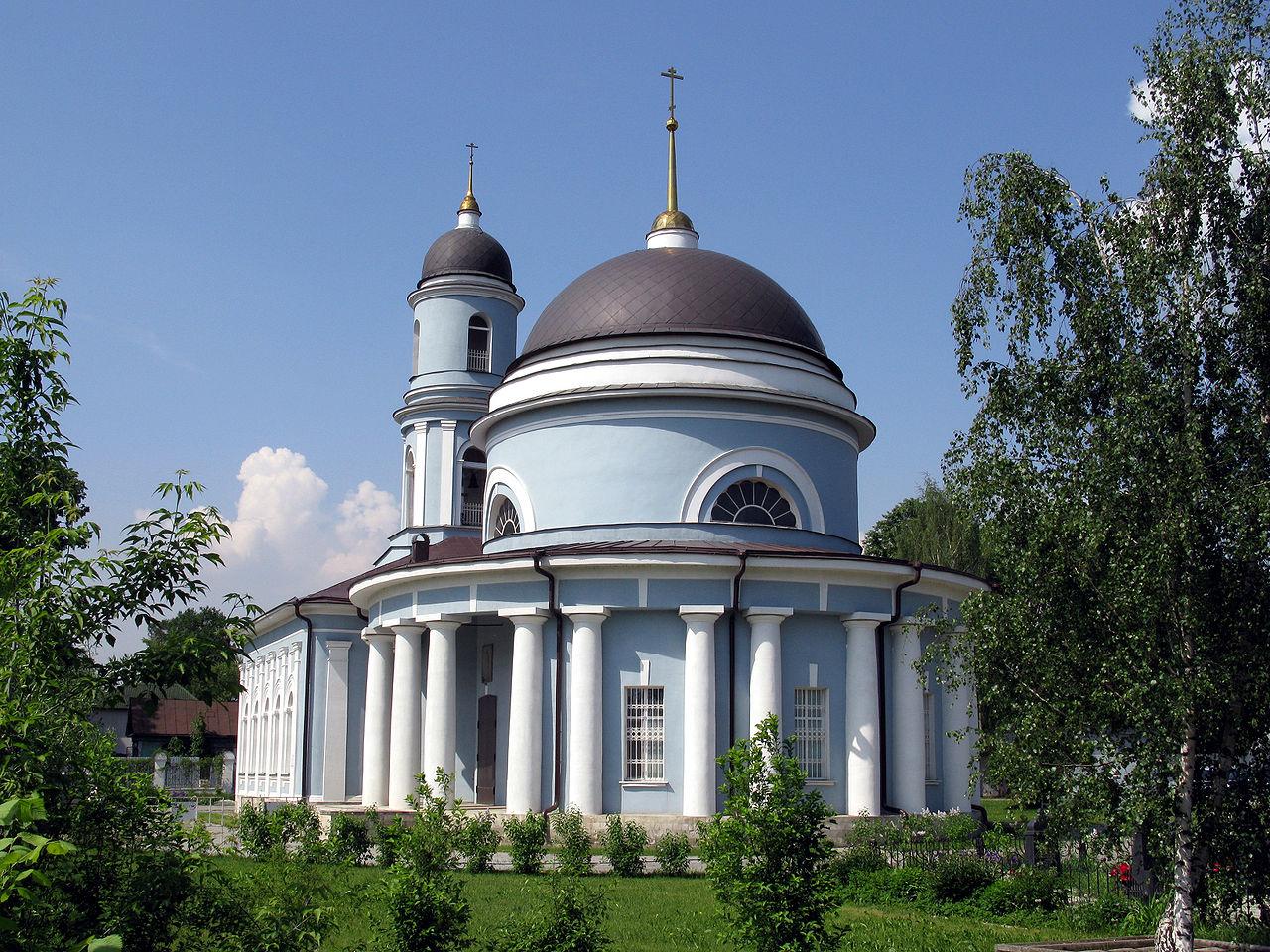 Покровский храм в селе Пехра-Покровское