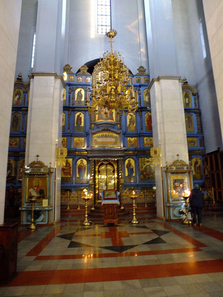 Иконостас нового Успенского собора, Хабаровск