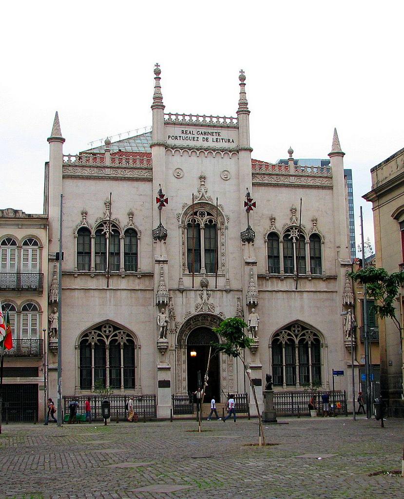 Португальская королевская библиотека в Рио-де-Жанейро